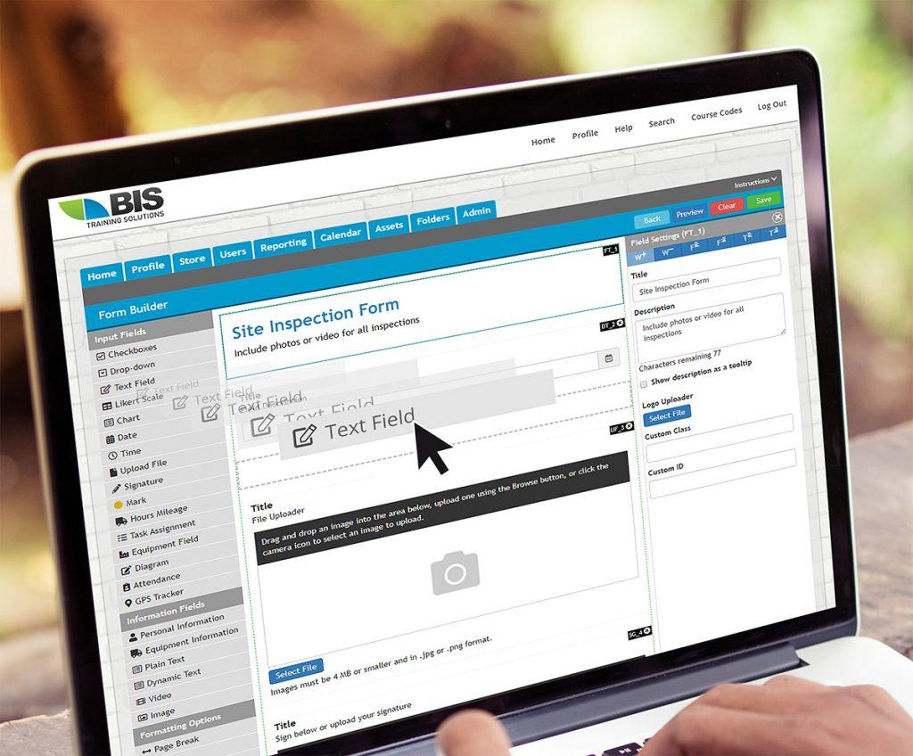 Safety management system digital form
