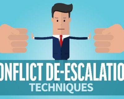 Conflict De-Escalation Techniques