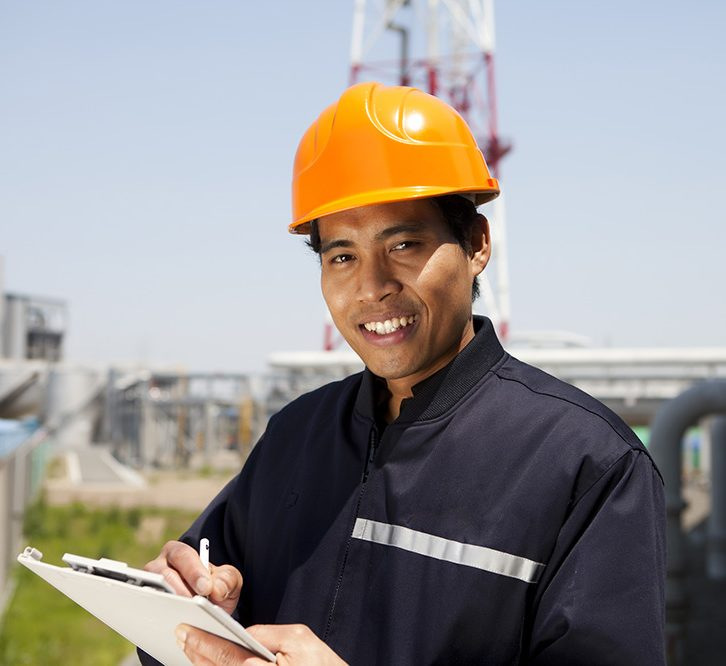 Gas Plant worker