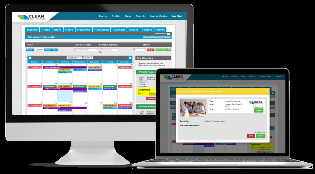 Online Classroom Calendar