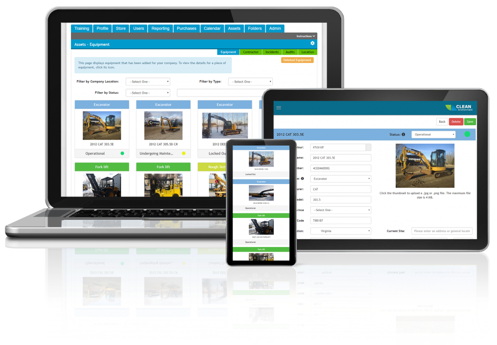 Equipment Management Software