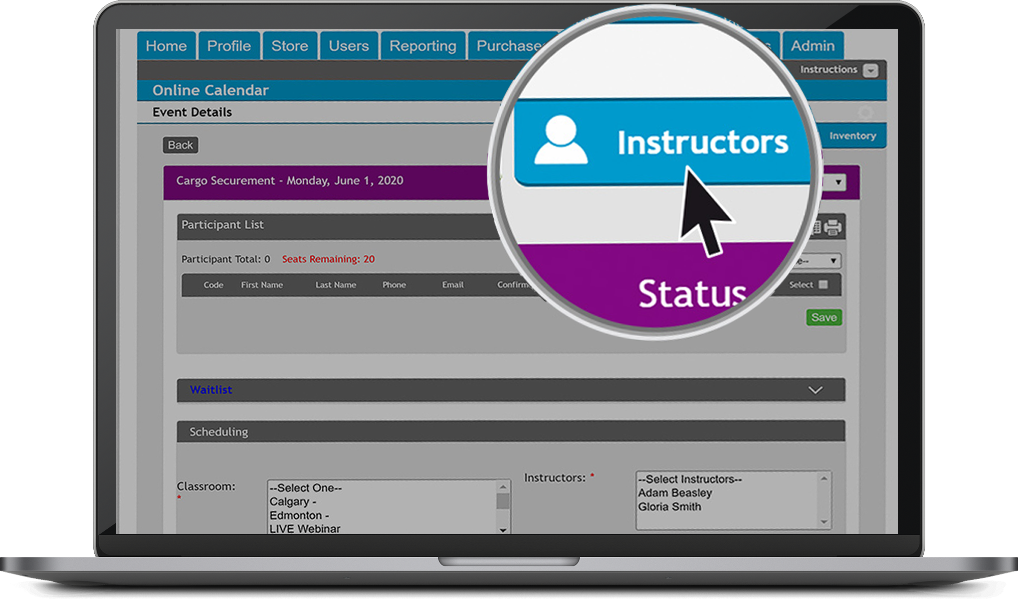 Instructor Dashboard