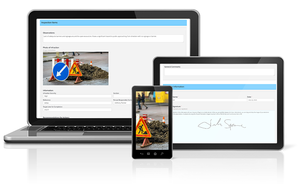 Site Inspection Software